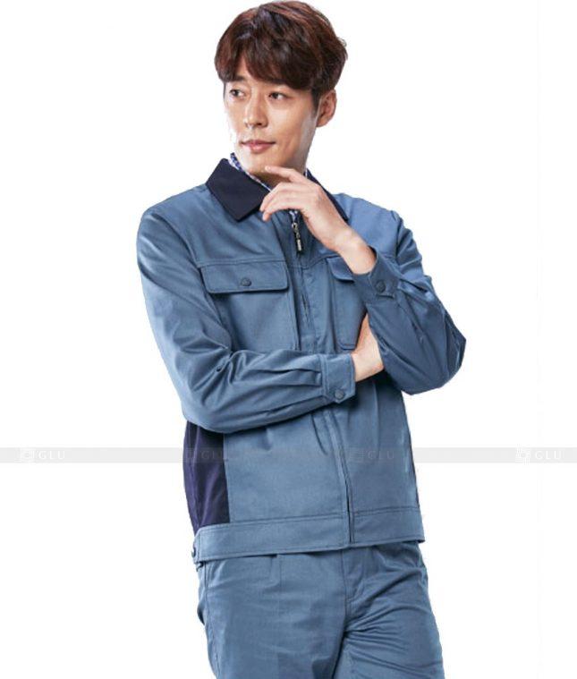 Dong phuc cong nhan GLU CN367 mẫu áo công nhân