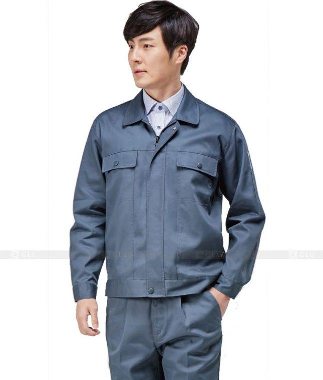 Dong phuc cong nhan GLU CN368 mẫu áo công nhân
