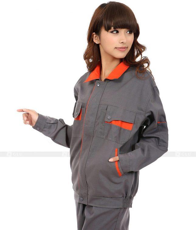 Dong phuc cong nhan GLU CN369 mẫu áo công nhân