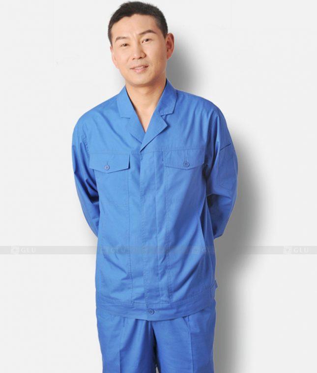 Dong phuc cong nhan GLU CN371 mẫu áo công nhân
