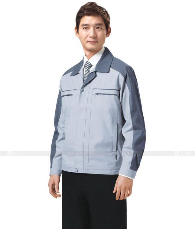Dong phuc cong nhan GLU CN373 mẫu áo công nhân