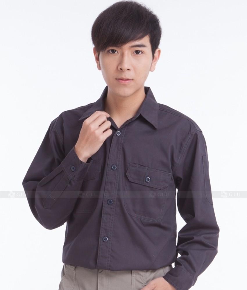 Dong phuc cong nhan GLU CN374