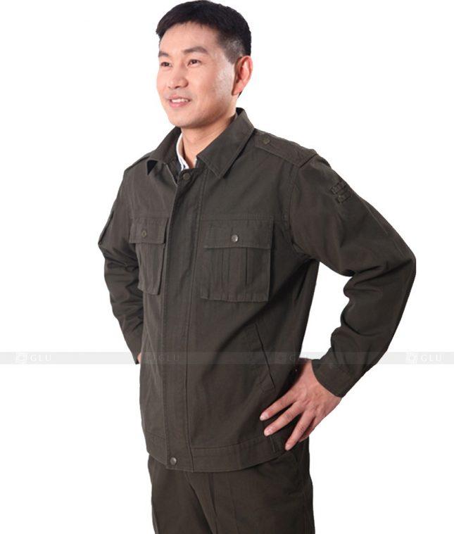 Dong phuc cong nhan GLU CN376 mẫu áo công nhân