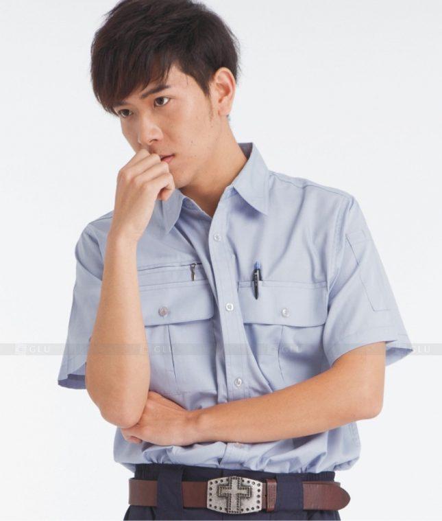 Dong phuc cong nhan GLU CN377 mẫu áo công nhân