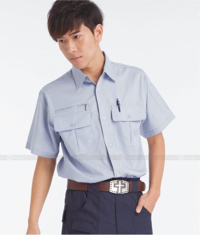 Dong phuc cong nhan GLU CN379 mẫu áo công nhân