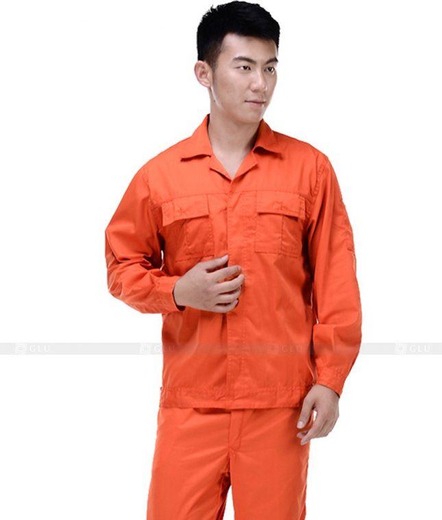 Dong phuc cong nhan GLU CN387 mẫu áo công nhân