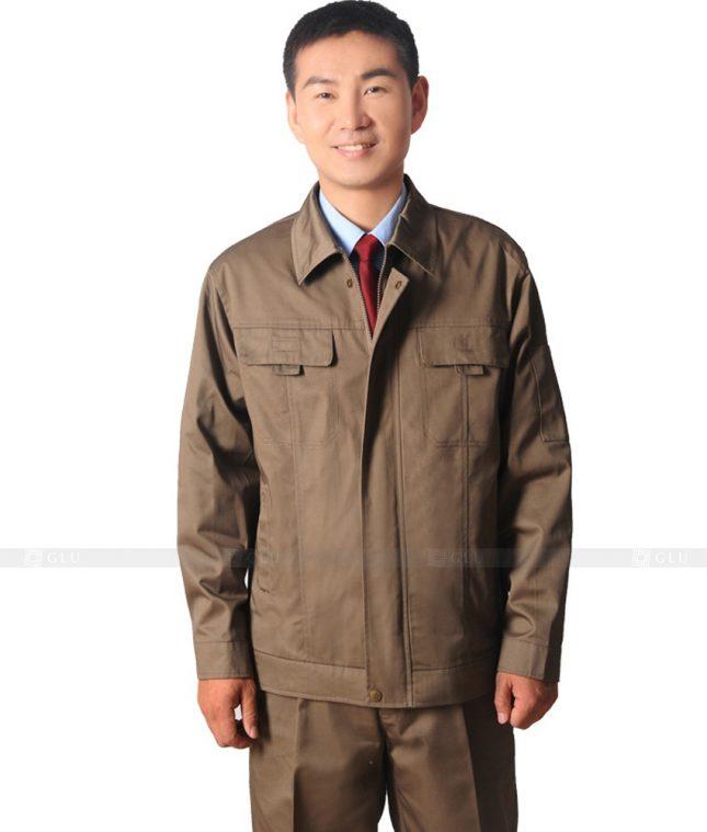 Dong phuc cong nhan GLU CN397 mẫu áo công nhân