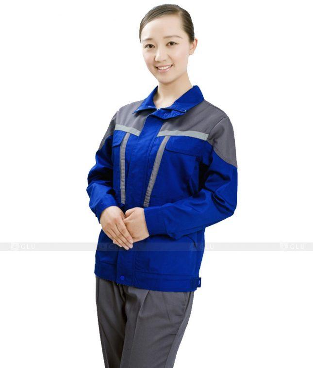 Dong phuc cong nhan GLU CN399 mẫu áo công nhân