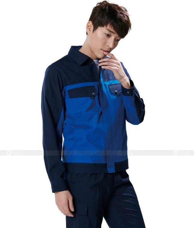 Dong phuc cong nhan GLU CN402 mẫu áo công nhân