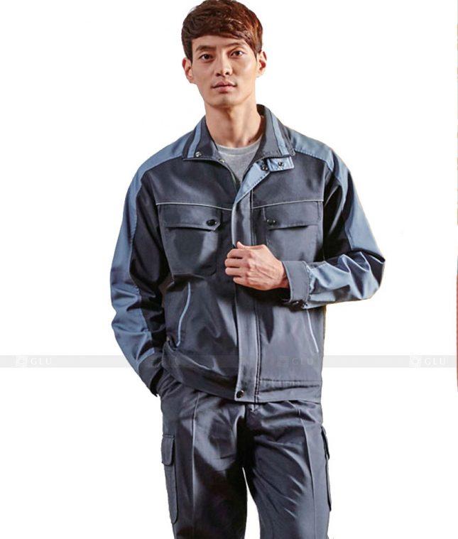 Dong phuc cong nhan GLU CN404 mẫu áo công nhân