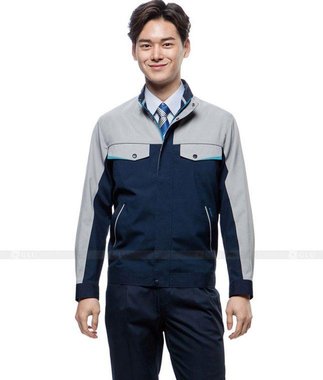 Dong phuc cong nhan GLU CN405 mẫu áo công nhân