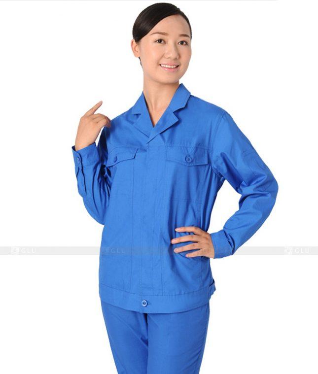 Dong phuc cong nhan GLU CN408 mẫu áo công nhân