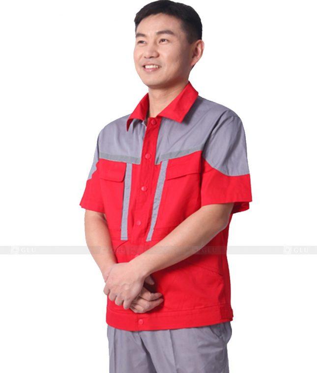 Dong phuc cong nhan GLU CN409 mẫu áo công nhân