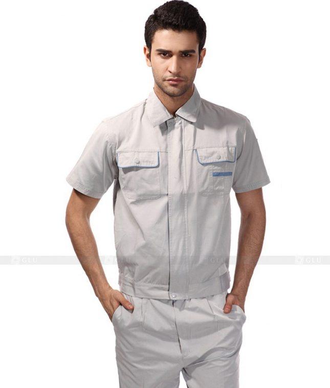 Dong phuc cong nhan GLU CN413 mẫu áo công nhân