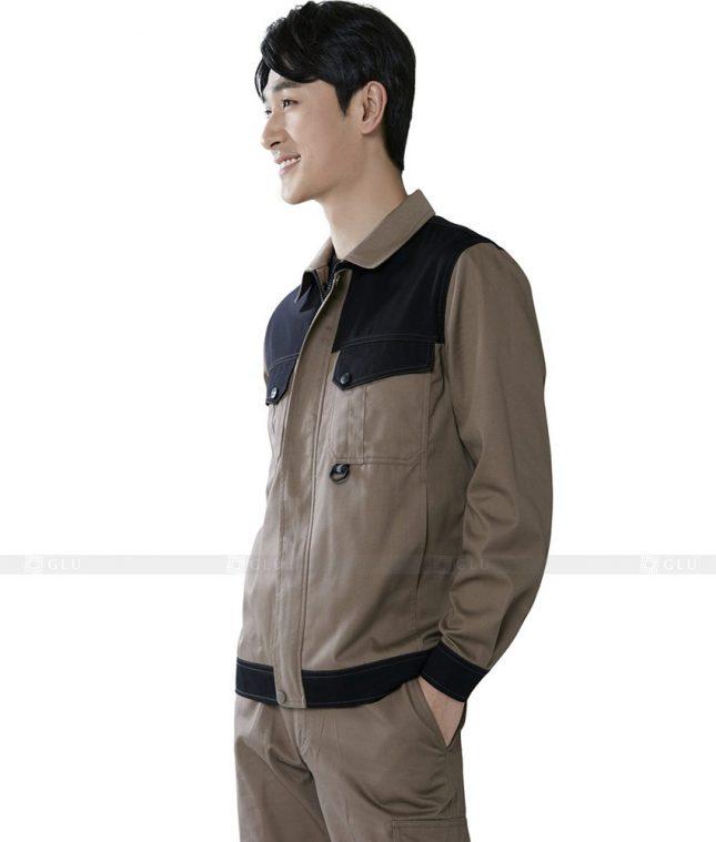 Dong phuc cong nhan GLU CN414 mẫu áo công nhân