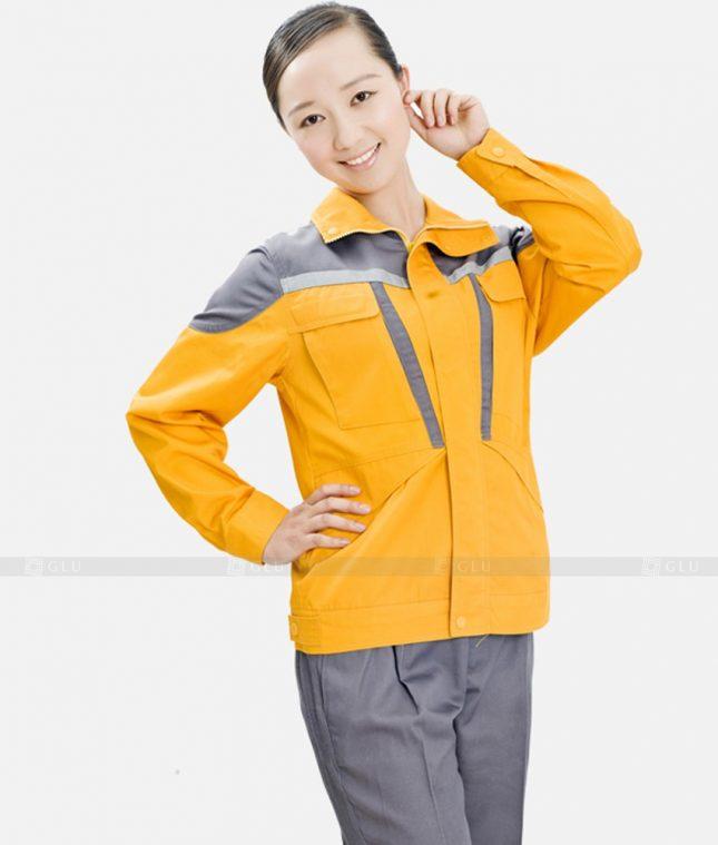 Dong phuc cong nhan GLU CN415 mẫu áo công nhân