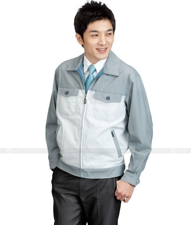 Dong phuc cong nhan GLU CN416 mẫu áo công nhân