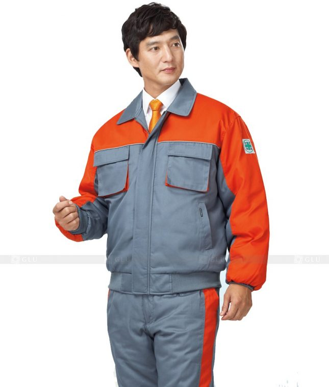 Dong phuc cong nhan GLU CN420 mẫu áo công nhân