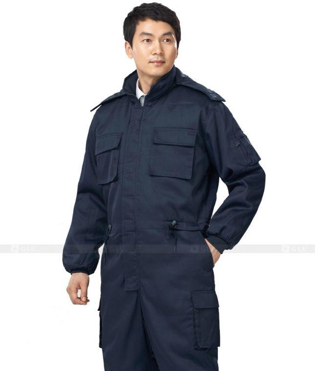 Dong phuc cong nhan GLU CN421 mẫu áo công nhân