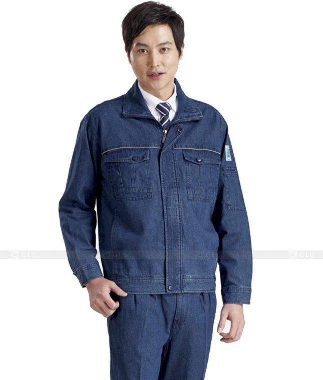 Dong phuc cong nhan GLU CN426 mẫu áo công nhân
