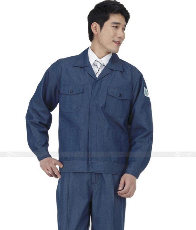 Dong phuc cong nhan GLU CN427 mẫu áo công nhân