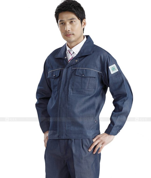 Dong phuc cong nhan GLU CN429 mẫu áo công nhân