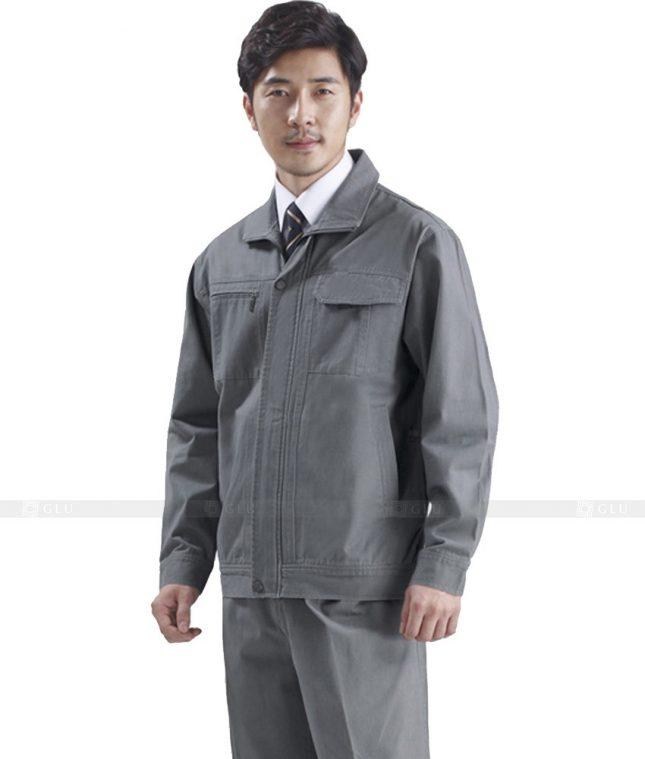 Dong phuc cong nhan GLU CN433 mẫu áo công nhân