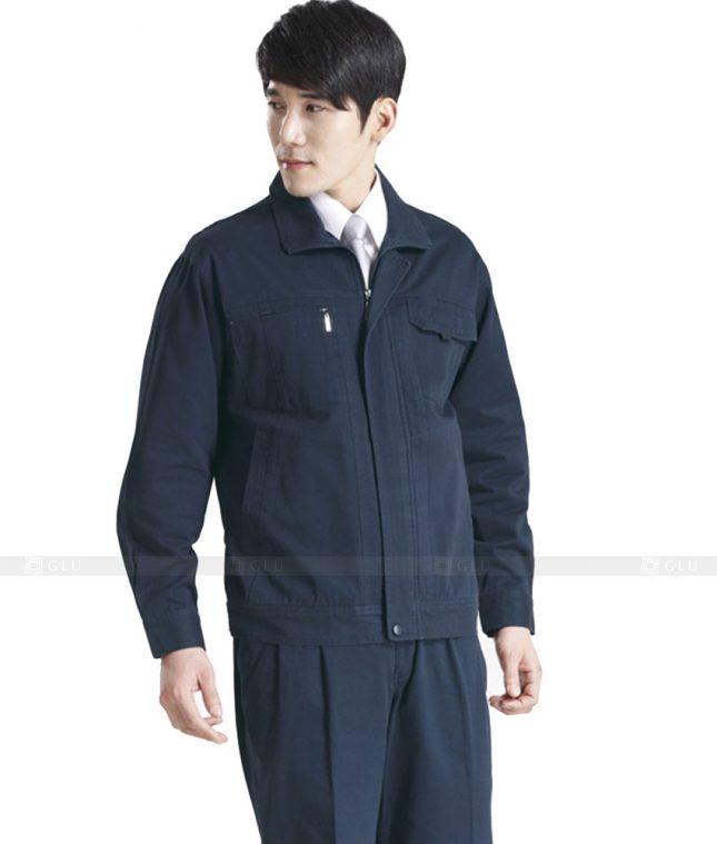 Dong phuc cong nhan GLU CN434 mẫu áo công nhân