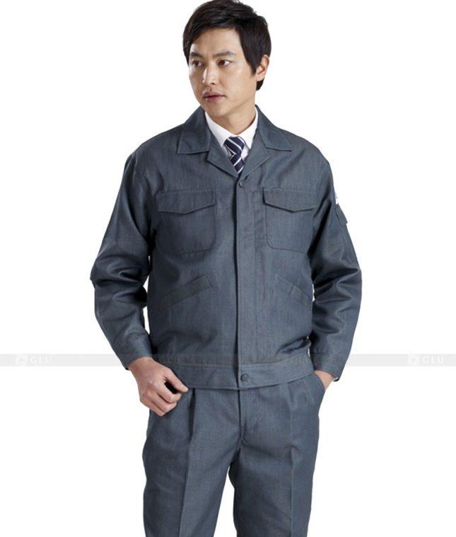Dong phuc cong nhan GLU CN435 mẫu áo công nhân