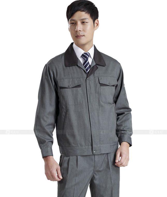 Dong phuc cong nhan GLU CN436 mẫu áo công nhân