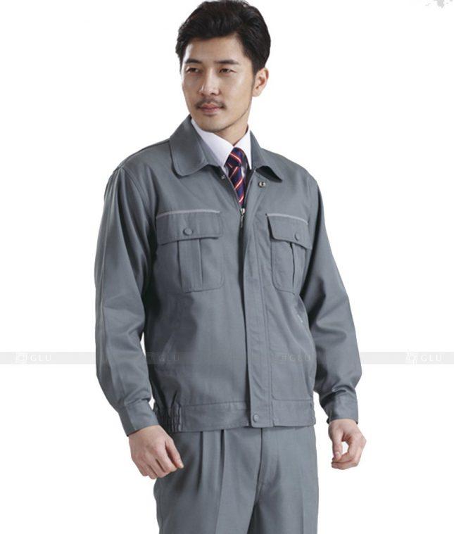 Dong phuc cong nhan GLU CN439 mẫu áo công nhân