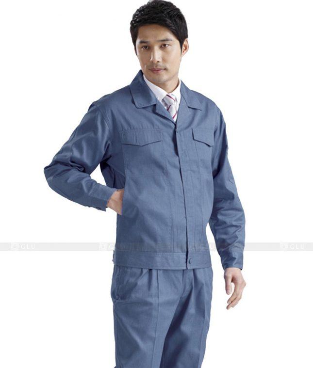 Dong phuc cong nhan GLU CN440 mẫu áo công nhân