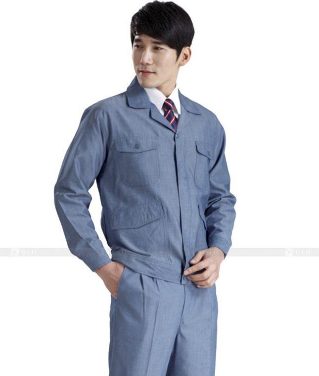 Dong phuc cong nhan GLU CN441 mẫu áo công nhân