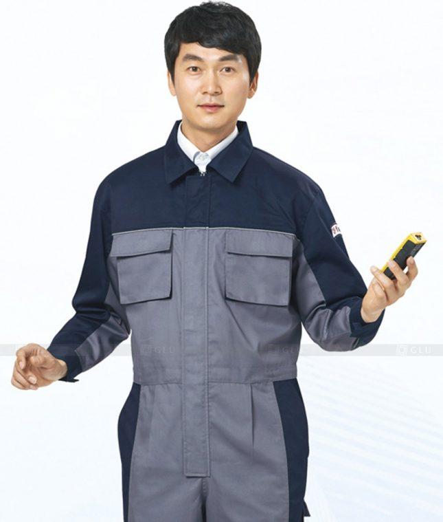 Dong phuc cong nhan GLU CN444 mẫu áo công nhân
