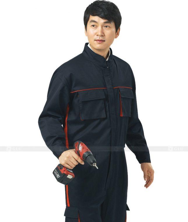 Dong phuc cong nhan GLU CN445 mẫu áo công nhân