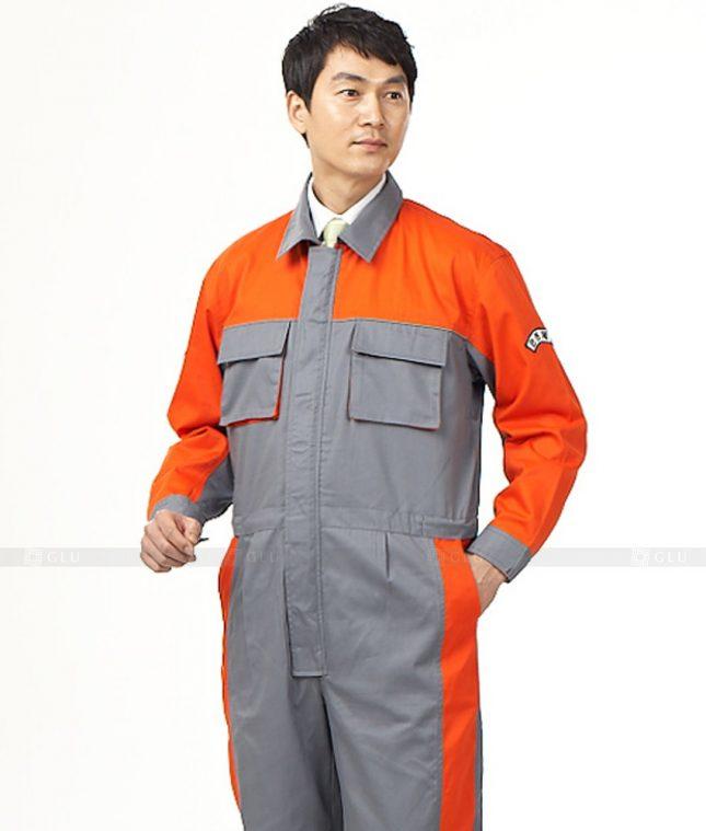 Dong phuc cong nhan GLU CN446 mẫu áo công nhân