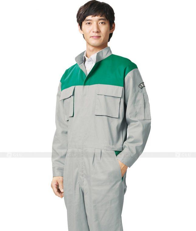 Dong phuc cong nhan GLU CN447 mẫu áo công nhân