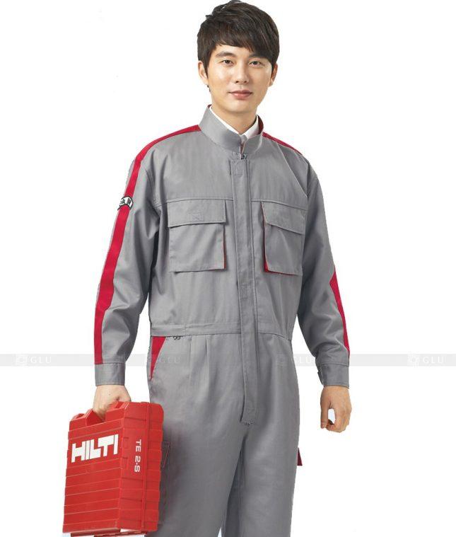 Dong phuc cong nhan GLU CN448 mẫu áo công nhân