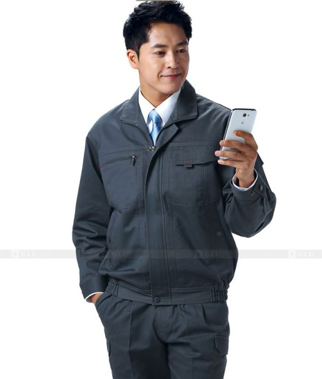 Dong phuc cong nhan GLU CN449 mẫu áo công nhân