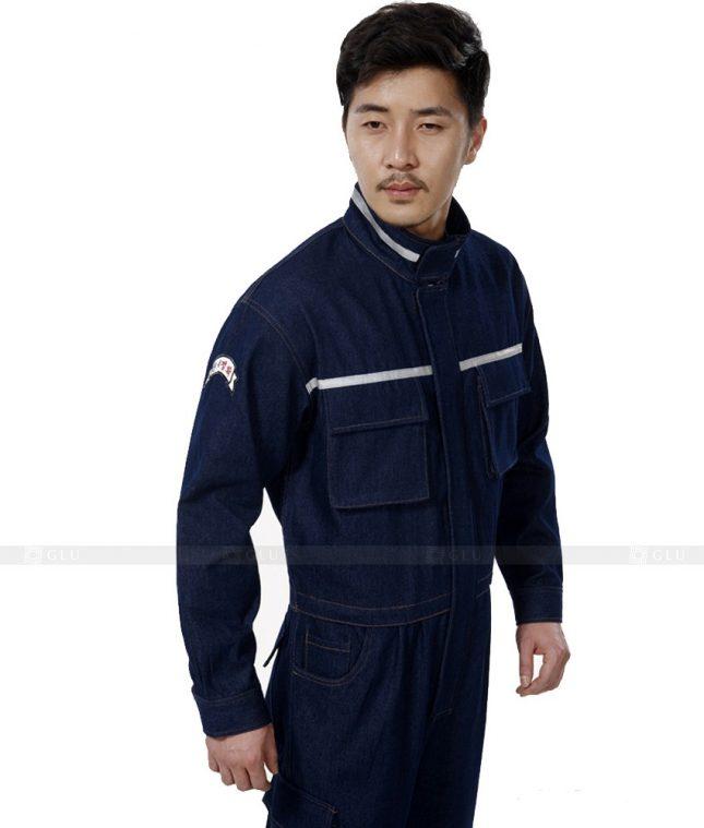 Dong phuc cong nhan GLU CN451 mẫu áo công nhân