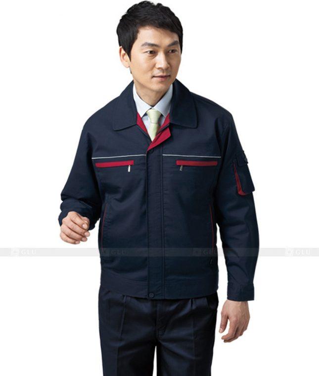Dong phuc cong nhan GLU CN452 mẫu áo công nhân