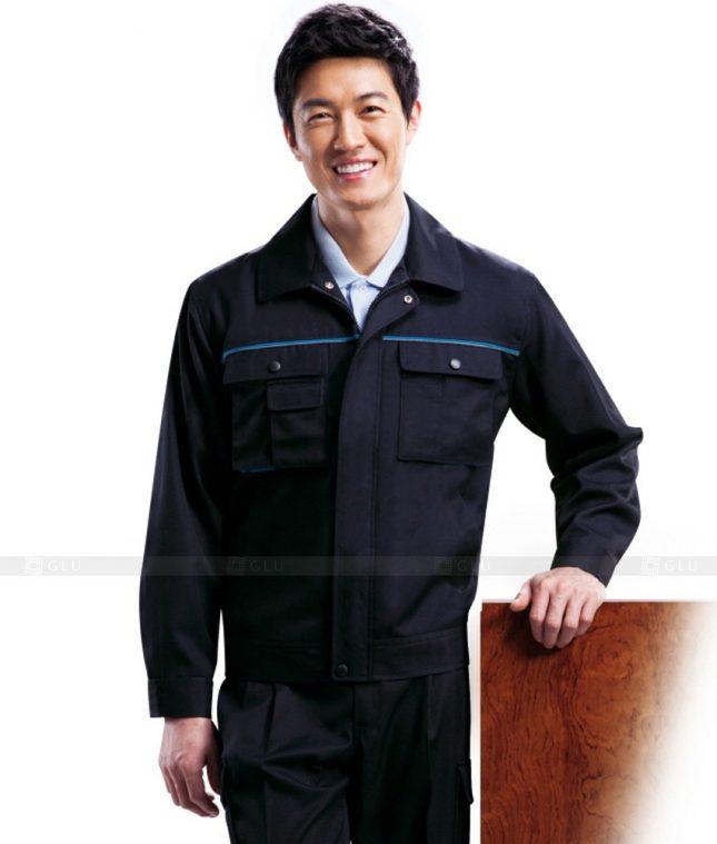 Dong phuc cong nhan GLU CN453 mẫu áo công nhân