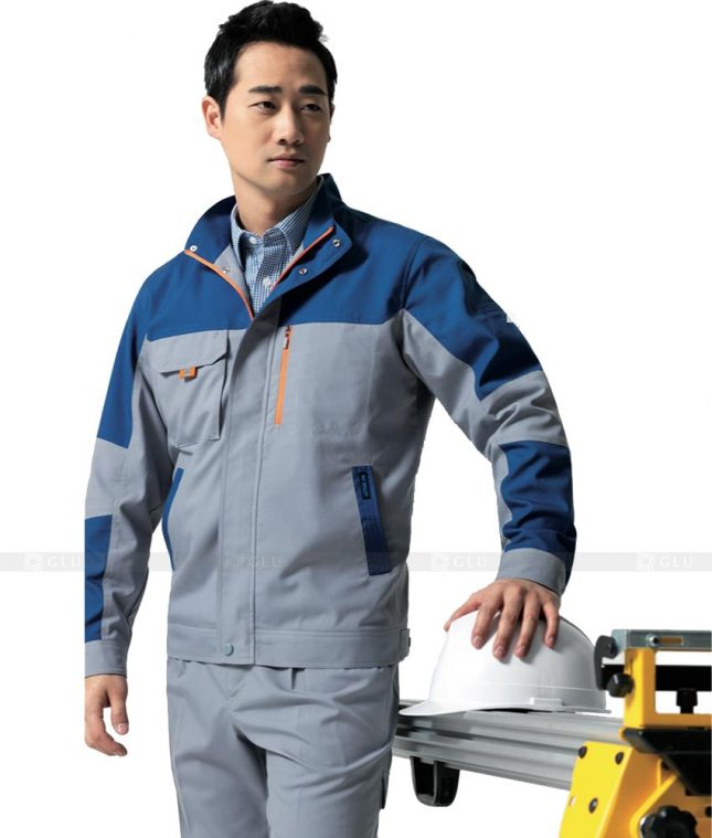 Dong phuc cong nhan GLU CN461 mẫu áo công nhân