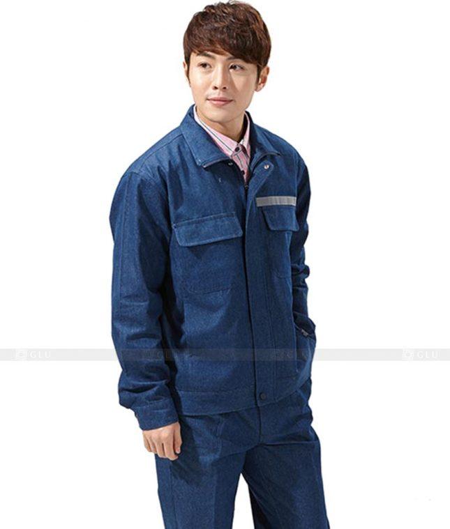 Dong phuc cong nhan GLU CN462 mẫu áo công nhân