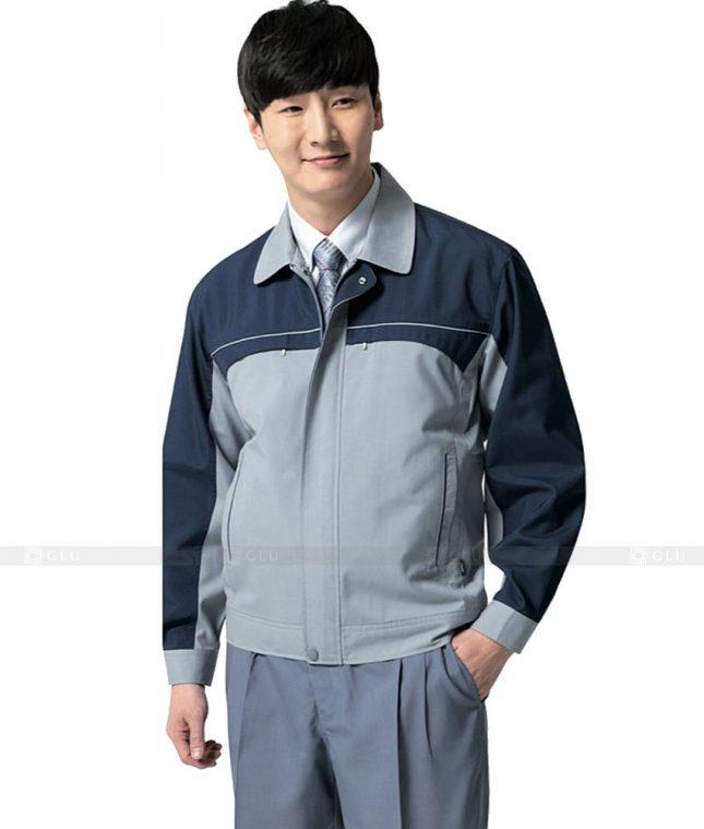 Dong phuc cong nhan GLU CN467 mẫu áo công nhân