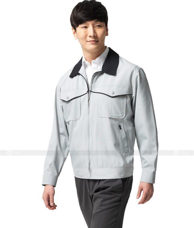 Dong phuc cong nhan GLU CN468 mẫu áo công nhân
