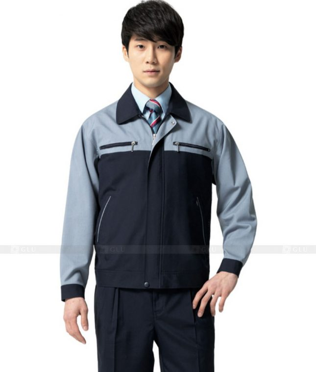 Dong phuc cong nhan GLU CN469 mẫu áo công nhân