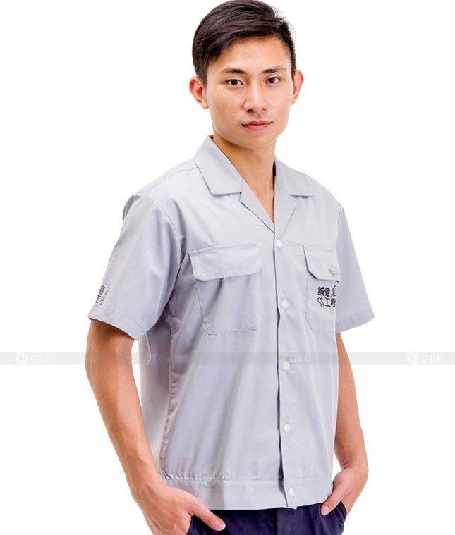 Dong phuc cong nhan GLU CN472 mẫu áo công nhân