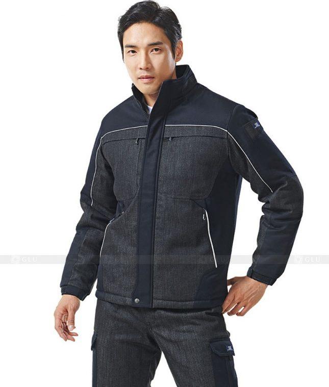 Dong phuc cong nhan GLU CN473 mẫu áo công nhân