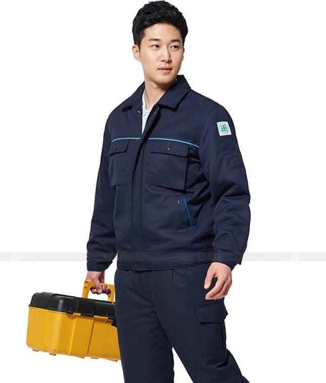 Dong phuc cong nhan GLU CN475 mẫu áo công nhân